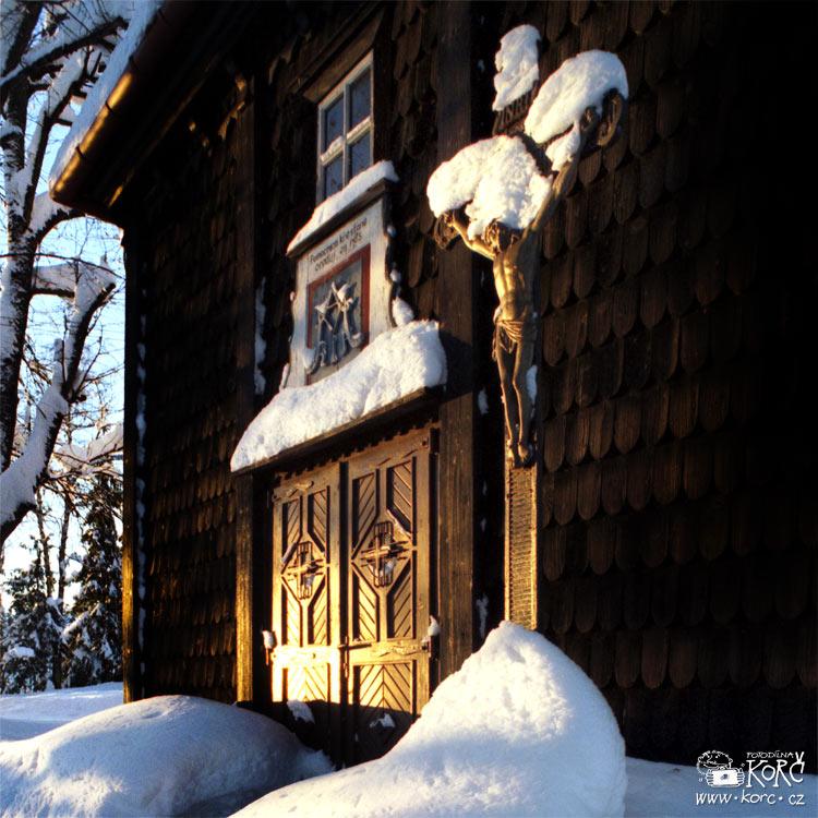 kostel Panny Marie na Grůňu - foto zroku 1995