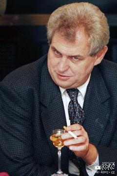 Miloš Zeman 1996
