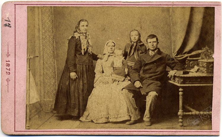 'jedna zprvních fotografií pořízených Ludwigem Niemtschikem ve Frydku'